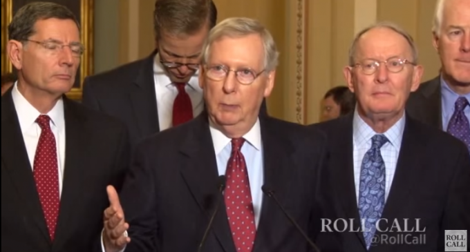 McConnell: The Senate Would Not Act On Trump's Banning Of Muslims