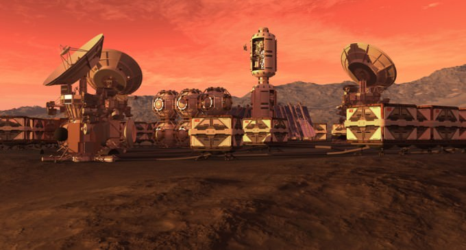 Newsweek: The Super Rich are Escaping To Mars