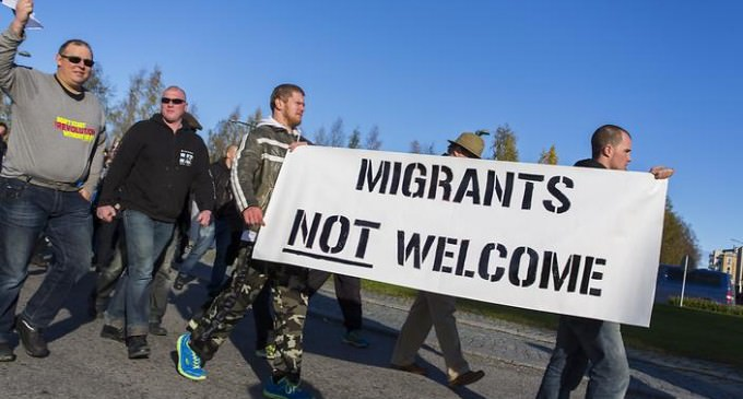 Angry Mobs Take To Streets In Backlash Against Migration After Teenager Is 'Raped By Refugee'