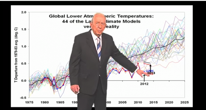 "Founder of The Weather Channel: ""There Is No Global Warming"""