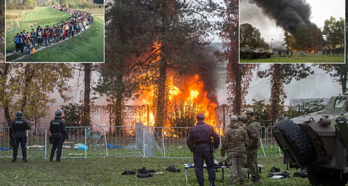 Germans Torch 222 Refugee Homes…and Counting