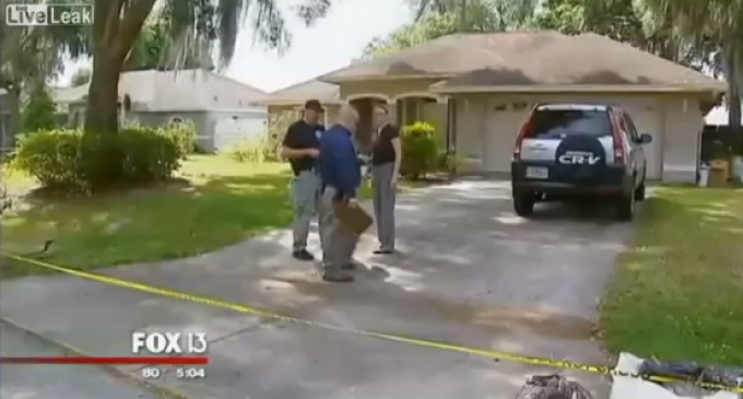 Home Intruder Shot By Entire Family