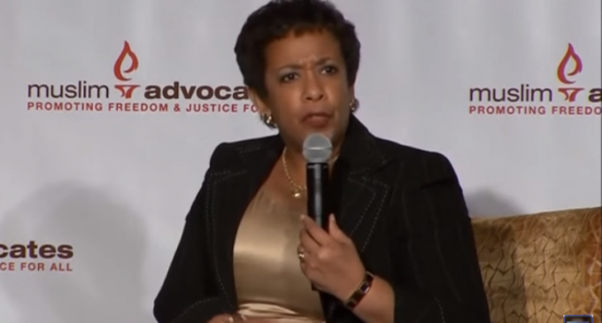 AG Lynch: We Will Prosecute Those Who Use 'Anti-Muslim' Speech That 'Edges Toward Violence'