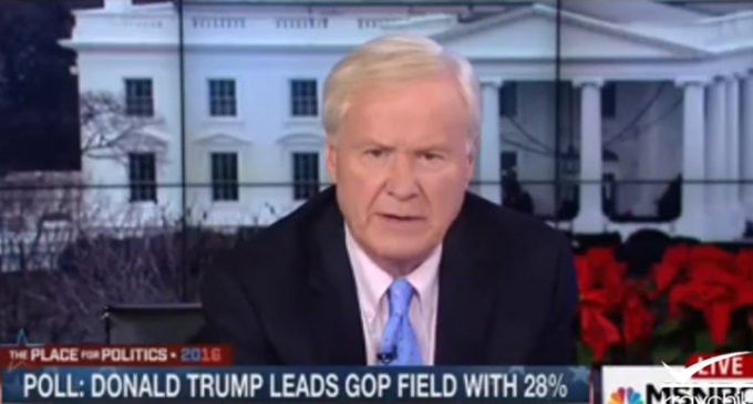 Matthews: Angry White Men are Trying to Erase Obama From History, Elect 'Enemies of the State'