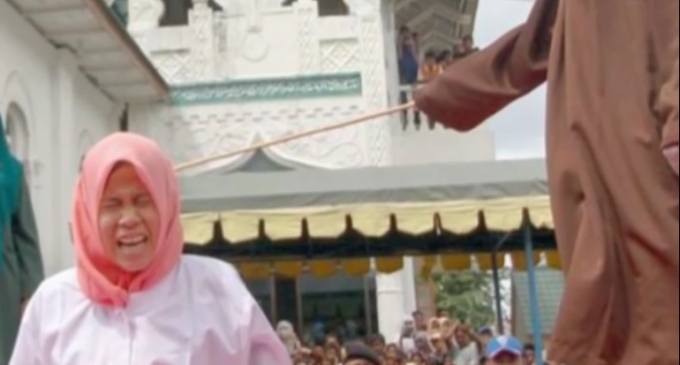 Sharia Law: Woman Beaten Because She Stood Too Close To a Male Student