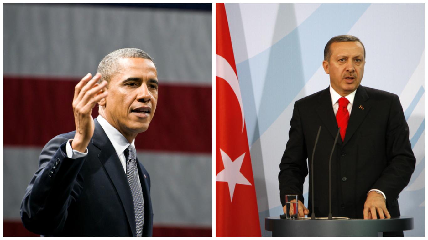 obama Recep Tayyip Erdoğan