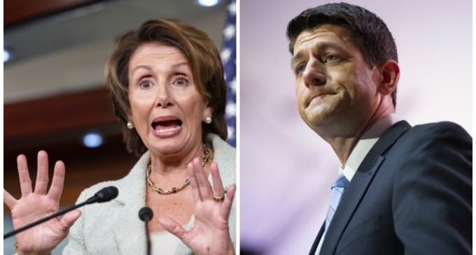 Pelosi Calls Out Ryan: He 'Really Gave Away The Store'