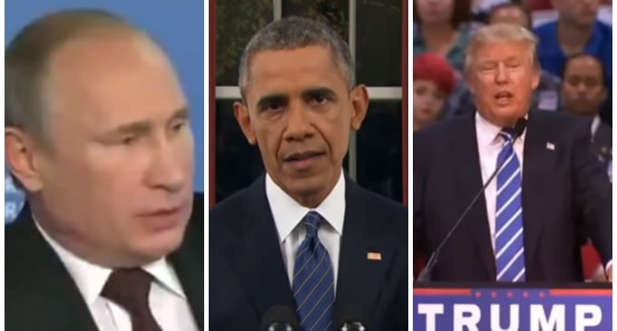 Putin Praises Trump and Slams Obama, Trump Responds