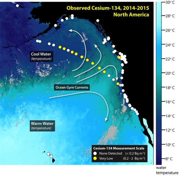 More Fukushima Nuclear Radiation approaches American Shores