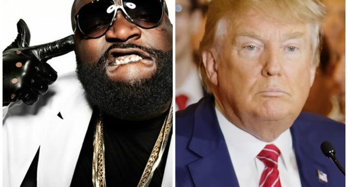 Rapper Rick Ross Calls For Trump Assassination