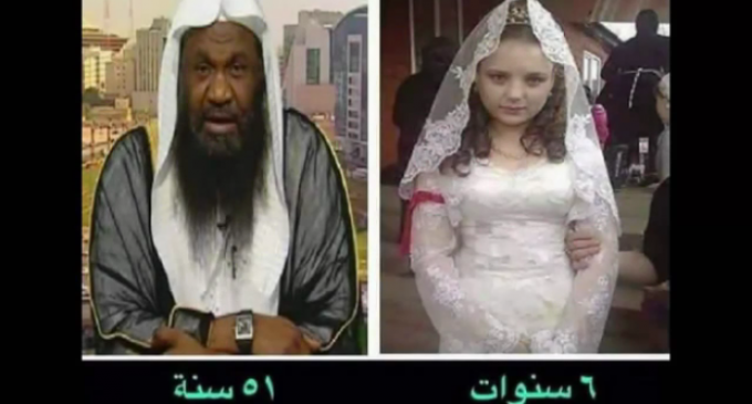 Saudi Prince of 51 Celebrates Marriage to a 6-year-old
