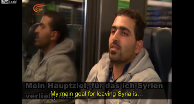 Syrian Makes Startling Confession As To His True Goal In 'Fleeing' To Europe
