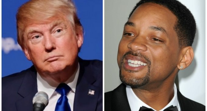 Will Smith: Trump's Comments on Muslims and Building Walls May Force Me To Run For President