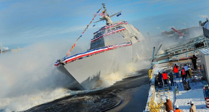 US Navy's Newest Ship Breaks Down 20 Days After Commissioning