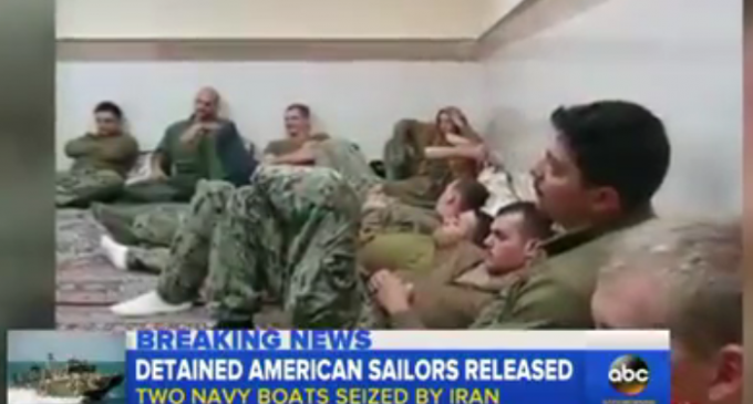 Obama Admin Apologizes To Iran After US Boats Held By Iranian Revolutionary Guard Corps
