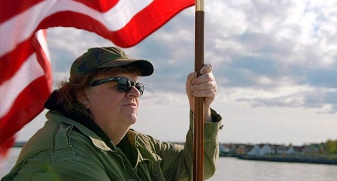 """Micheal Moore: Americans Don't Really Love Our Troops, """"All that cheering"""" is """"all fake"""""""