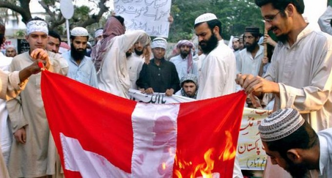 Muslim Immigrants Demand Cross Be Removed From Swiss Flag