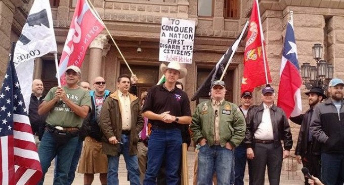 """Texans Hold """"Uncovering Day"""" Celebration Rally at State Capitol"""