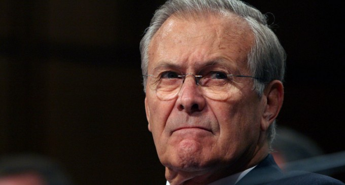 Rumsfeld: The United States Must 'Compete' With Islamic State