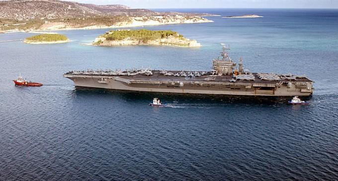 Iran Threatens War, Locks Missiles On USS Harry Truman