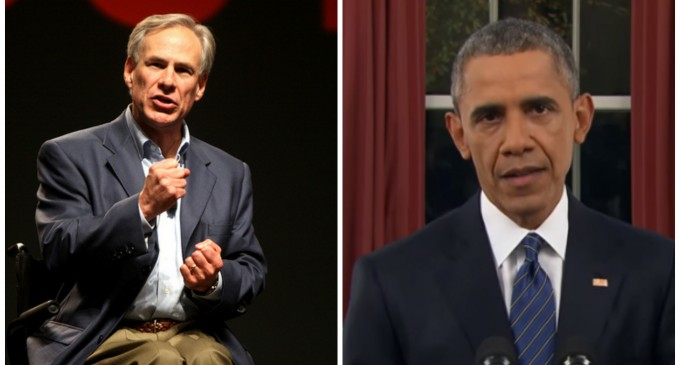 Texas Governor Goes Molon Labe On Obama