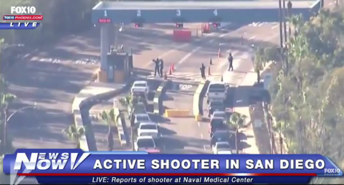 Active Shooter Reported at Naval Medical Center San Diego