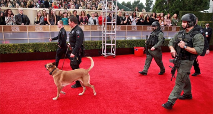 Hollywood Hypocrites Love their Armed Guards