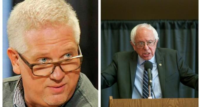 "Glenn Beck Prefers ""Democratic Socialist"" Sanders Over Trump"