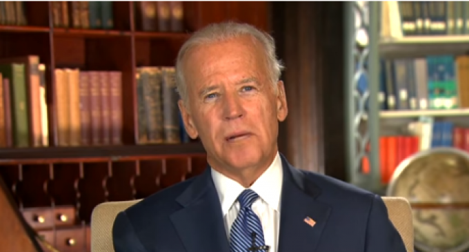 "Joe Biden: ""How I Learned to Love the New World Order"""