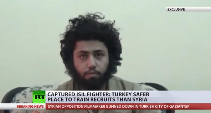 "ISIS Militant: ""Turkey and Saudi Arabia support us, we love them"""