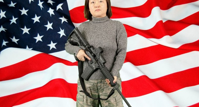 """Chinese Immigrant Defies Obama: """"I once was a slave before and I will never be one again"""""""