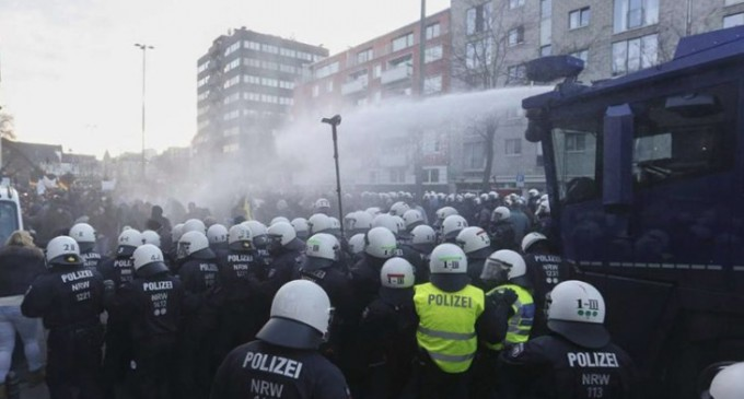 Cologne Cops Punish Rape Protesters, While the City Brings in Even More Migrants
