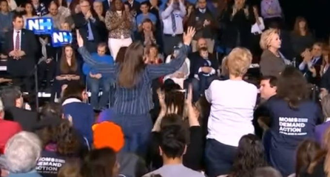 Woman Who Spoke Against Hillary Being Threatened