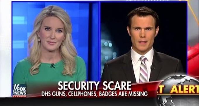 Hundreds of DHS Employee IDs & Guns Stolen