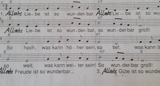 """Outrage as """"Pied Piper"""" Renames Christian Hymn 'Allah's Love Is Wonderful'"""