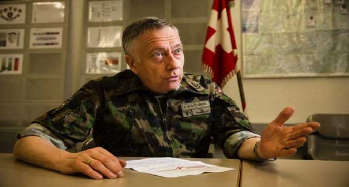 """Swiss Army Chief's Urgent Warning: Europe Is """"On The Verge Of Civil War"""", """"Arm Yourselves"""""""