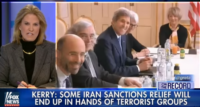 Kerry Admits Money From Iranian Nuke Deal Will Go To Terrorism