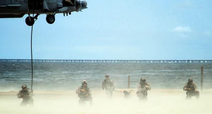More 'Realistic Military Training' on Washington Beaches
