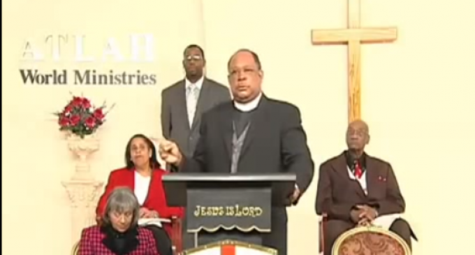 """Shock Video of Pastor Manning: """"There is something wrong with the black man's mind"""", """"We need to admit it"""""""