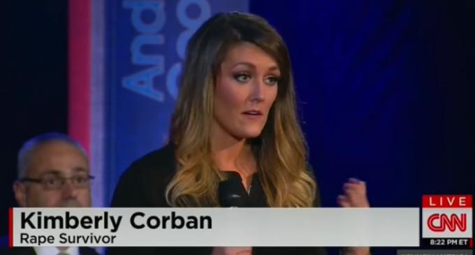 Rape Survivor Confronts Obama Over Gun Control