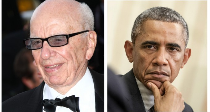 Rupert Murdoch Supports Treasonous Obamatrade