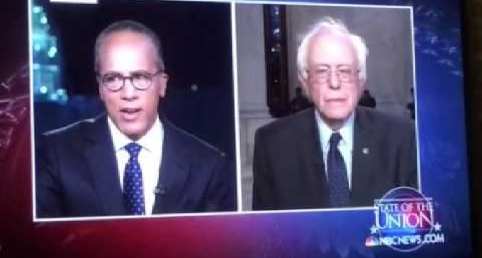 Sanders: Obama Doesn't Talk About Iran So As To Focus On Income Inequality