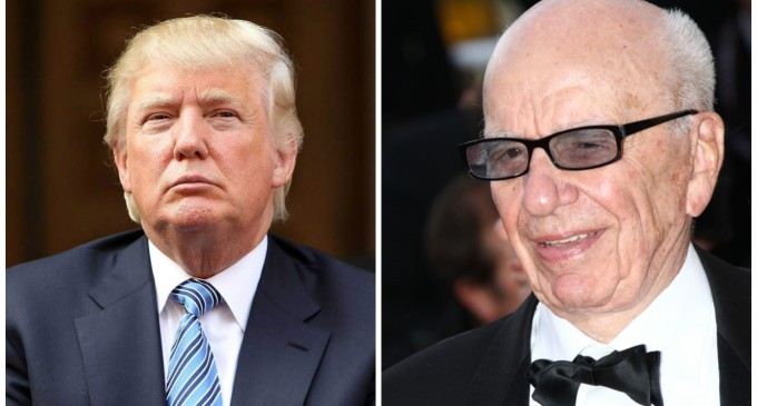 Fox's Trump Decision Sheds Light on Rupert Murdoch's Open Borders Agenda