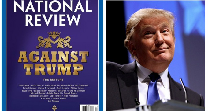 National Review Publisher 'Heartbroken' After Cancellations Stemming from Trump Attack