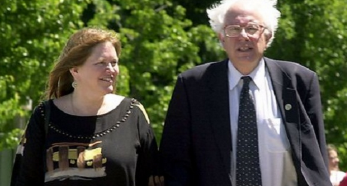 """Bernie Sanders Explains Why He Hasn't Released His Tax Returns: His Wife """"Does Them"""""""