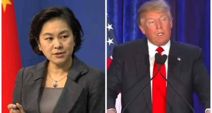 China Warns of President Trump, Calls for Media Blackout of U.S. Presidential Race