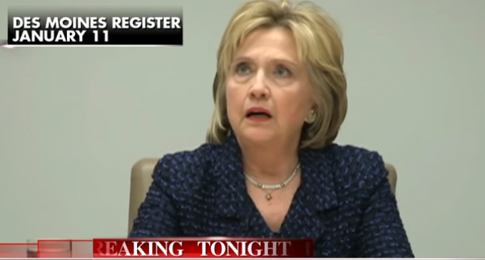 Hillary Busted in Lie Number 1,000 Something