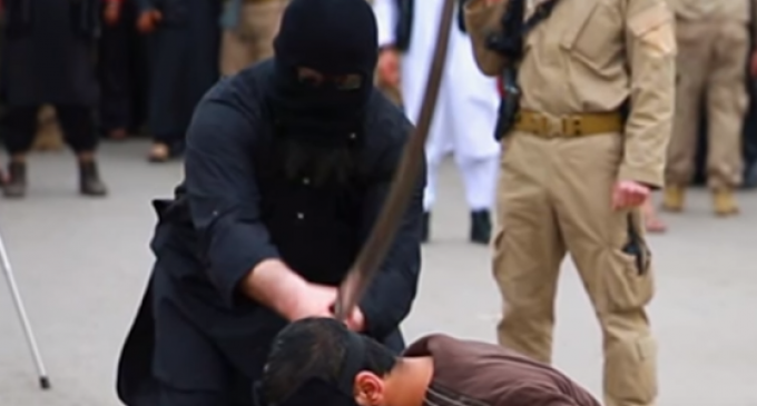 ISIS Leader Beheaded by Sniper While Teaching Beheading Class