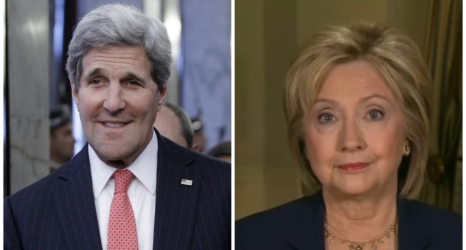 State Dept: John Kerry Also Sent Classified Intel Via 'Non-Official' Email