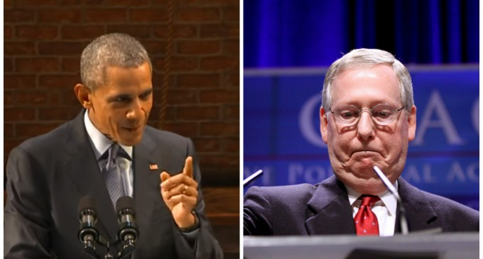 Senate Staffer: McConnell Will Capitulate to Obama over SCOTUS Nomination